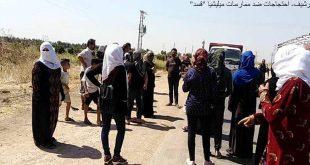 La Milicia separatista Qasad (FDS) secuestra a civiles en el campo de Qamisli