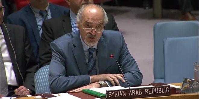 Yaafari: Miembros permanentes del C.S. abusan de los mecanismos de la ONU para politizar la situación humanitaria en Siria