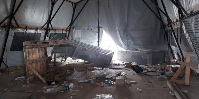 SANA entra en una base abandonada por las fuerzas de ocupación de EE.UU. (Fotos)
