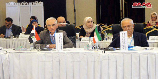 Siria presente en reunión de Ministros de Salud de países del Mediterráneo Oriental