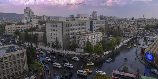 Lluvia en Damasco y las demás provincias del país. (Fotos)