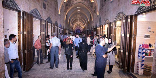 Concluyen obras de restauración del mercado de Saqtieh en la ciudad vieja de Alepo
