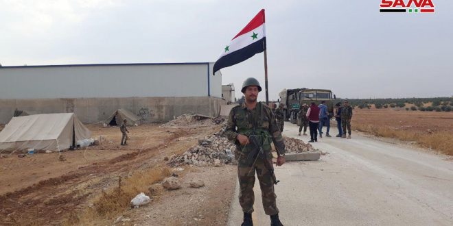 Ejército sirio continúa su despliegue en Manbej. (Fotos)