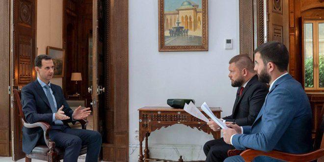 Al-Assada Rossiya 24 y Rossiya Sevodnya: la presencia de EEUU daría origen a la resistencia militar que obligaría a los estadounidenses a salir del país