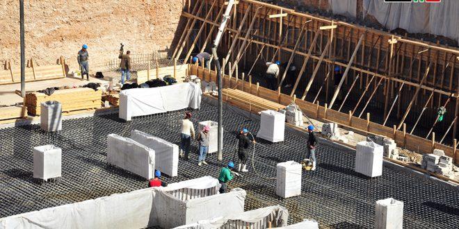 Comienza la construcción del primer inmueble de Marota City al sur de Damasco