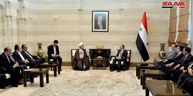 Siria e Irán analizan vías para desarrollar las relaciones económicas