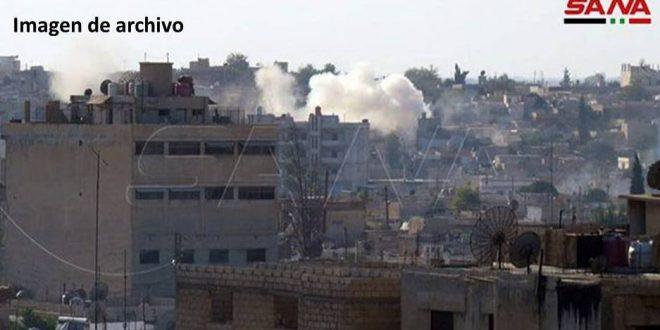 Reportan choques con armas pesadas entre el ejército de ocupación turco y los grupos FDS