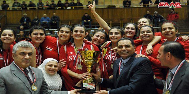 Selección femenina siria de baloncesto sub-16 se corona campeón de Asia Occidental. (+ Fotos)