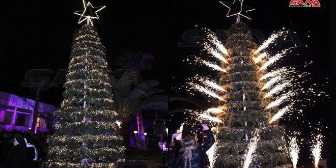 Preparaciones para la Navidad en Alepo y Hama