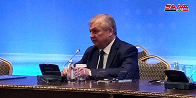 Fuerzas de ocupación estadounidenses deben abandonar Siria, afirma Lavrentiev