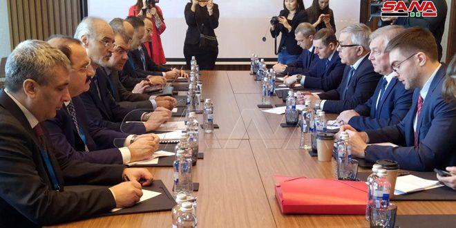 Delegaciones de Rusia y Siria sostienen conversaciones en el marco de la decimocuarta ronda de conversaciones de Astaná