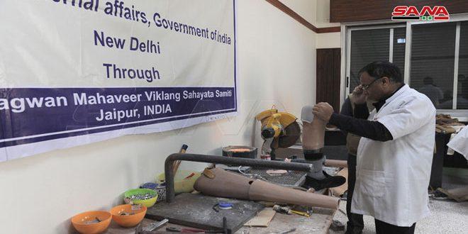Iniciativa india para ofrecer prótesis a los mutilados