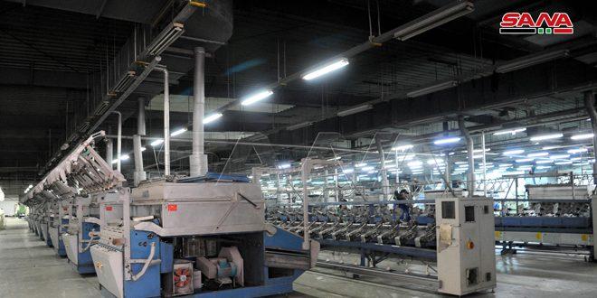 Más de 2300 plantas industriales vuelven a operar en Rif Dimashq