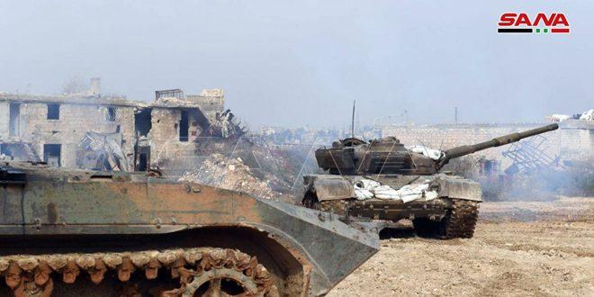 Ejército intensifica sus bombardeos con artillería y cohetes contra sedes terroristas al oeste y suroeste de Alepo