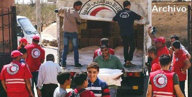 Continúa entrega de ayuda humanitaria en provincia de Deraa