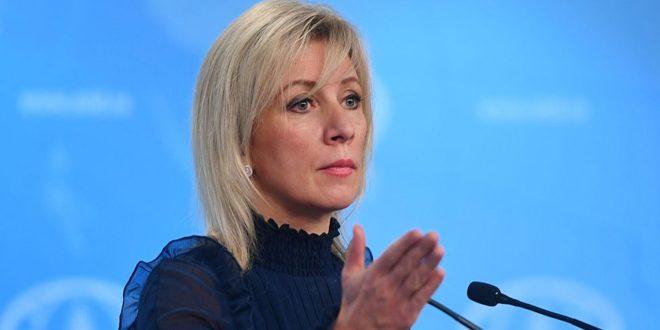Zajárova: La presencia de Estados Unidos en Siria es completamente contraria al derecho internacional
