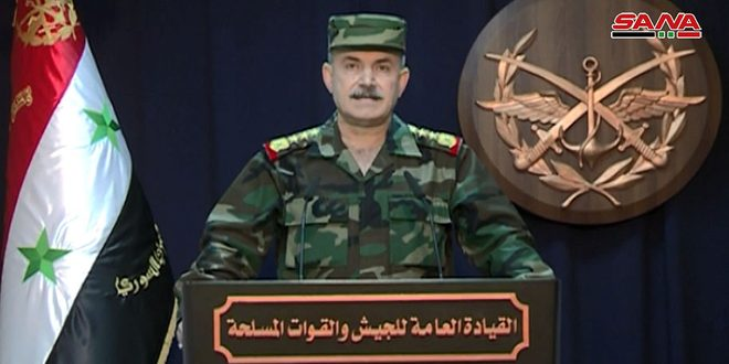 Comandancia General: el ejército pudo cumplir las tareas encomendadas en Alepo de manera muy eficiente y en tiempo récord