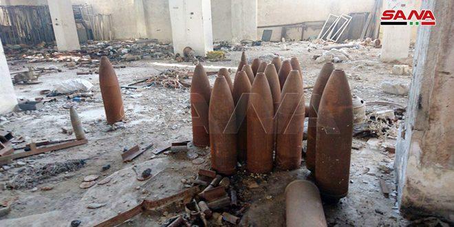 Terroristas convirtieron una planta textil en taller para fabricar bomba y proyectiles en Alepo