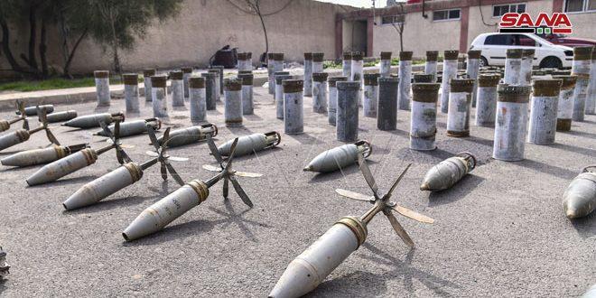 Ejército incauta armas y municiones abandonados por terroristas Conozca más sobre la actualidad siria: