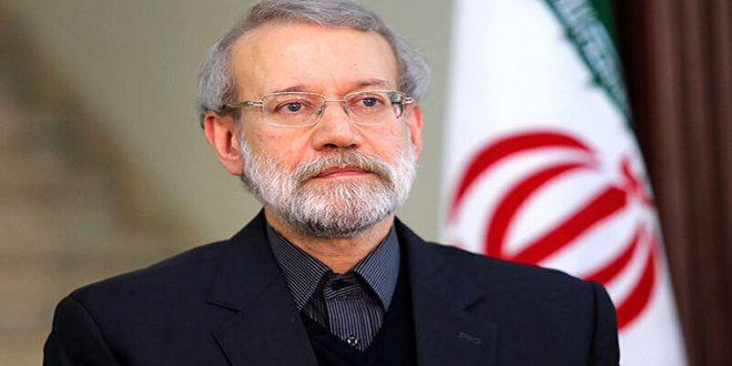 Larijani: la estabilidad es un logro importante para reconstruir a Siria