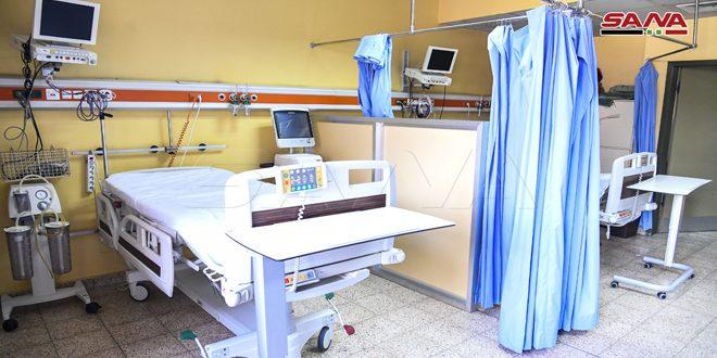 Hospital Universitario Al-Assad en Damasco ofrece atención gratuita a posibles casos con Covid-19