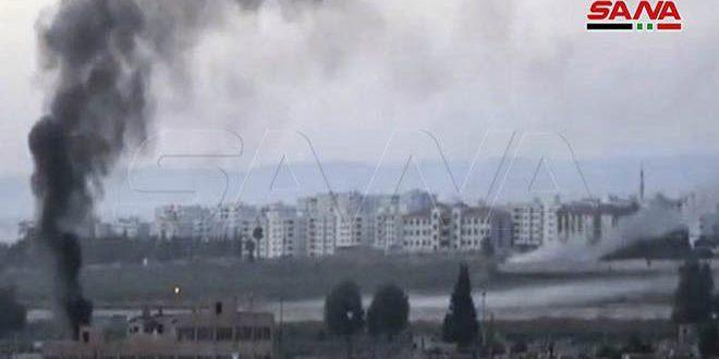 Dos mártires y cuatro heridos en agresión del ejército de ocupación turco en Hasakeh