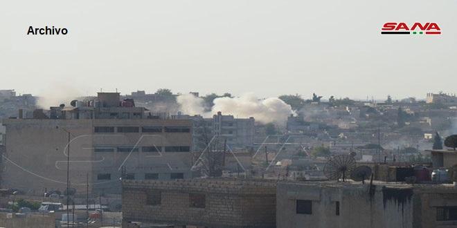 Mercenarios proturcos atacan con artillería la localidad de Ain Issa, Raqa