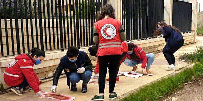 Iniciativas civiles para hacer frente al coronavirus. (fotos)