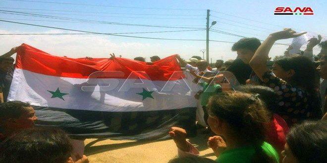 Continúan protestas en Siria contra las fuerzas de ocupación de EE.UU y Turquía
