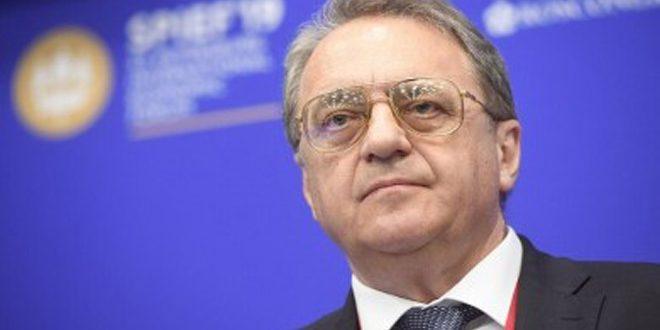 Bogdanov: el régimen turco debe comprometerse con lo acordado sobre la erradicación del terrorismo