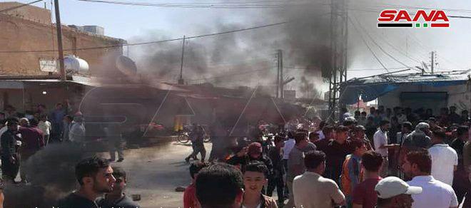 Muere un elemento de la milicia FDS a tiros por desconocidos en la localidad de al- Hol al este de Hasakeh