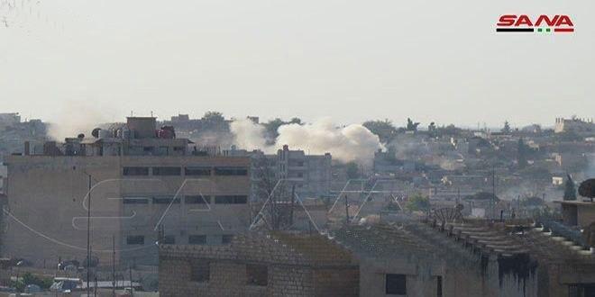 Bombardea el ocupante turco y sus mercenarios la ciudad de Tal Abyad en Raqa