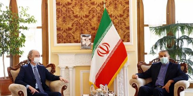 Irán seguirá defendiendo a Siria y su seguridad como país importante en la región, afirma Abd al-Lahyan