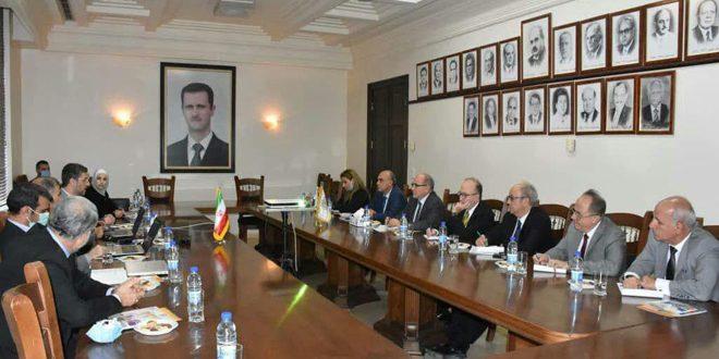 Siria e Irán conversan sobre cooperación científica