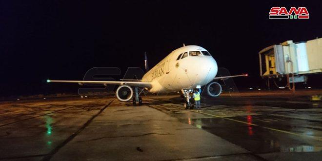 Alepo reanuda tráfico aéreo con países vecinos