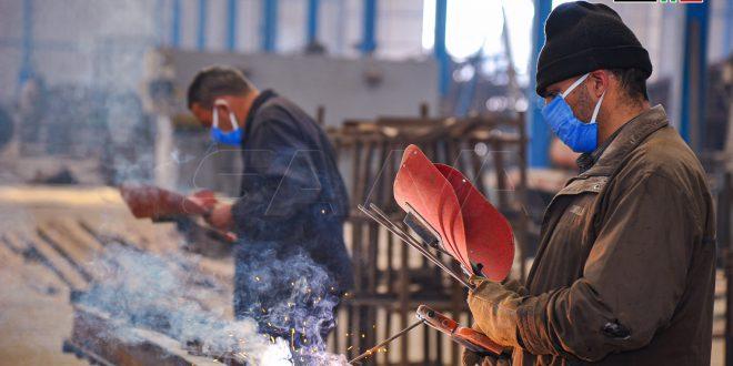Empresa constructora siria se sacude el polvo del terrorismo