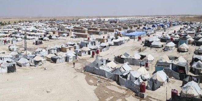 Una mujer asesinada a tiros en el campamento al-Hol controlado por la milicia FDS