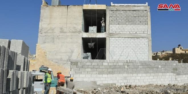 Reconstruyen 110 escuelas en provincia de Alepo