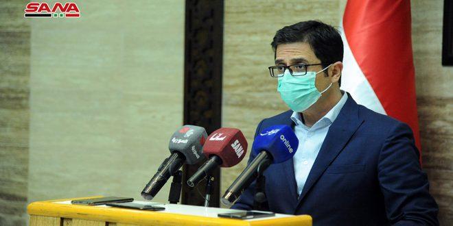 Siria comienza vacunación de su personal médico inmerso en la tarea de enfrentar el Covid-19