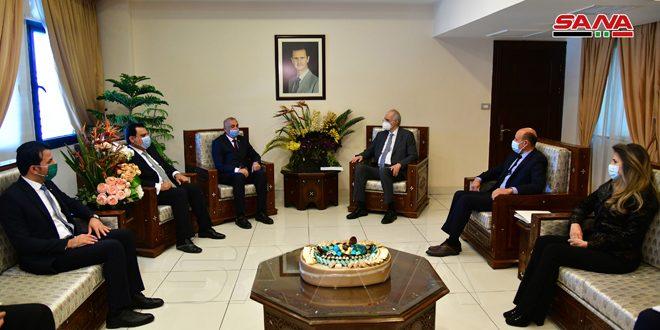 Siria e Irak continúan esfuerzos para impulsar cooperación comercial
