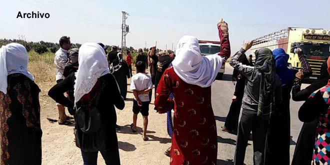 Milicia FDS secuestró a ocho civiles en Alepo