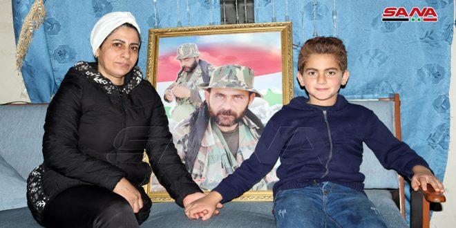 Las esposas de los mártires sirios, íconos de lucha y esperanza