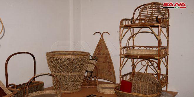 El bambú, artesanía tradicional siria que sigue viva a pesar de los años