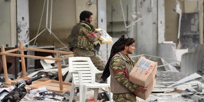 Mercenarios pro turcos se apoderan de casas y tiendas en el noroeste de Siria