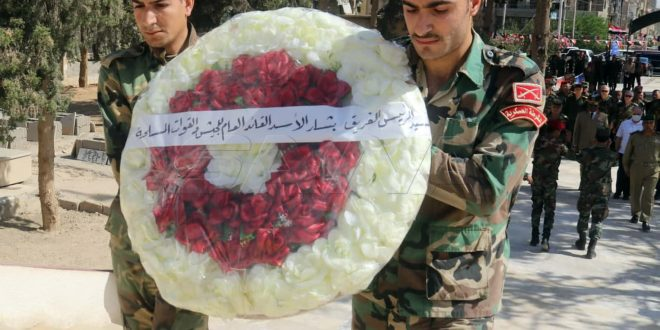 Rinden homenaje a los mártires en provincia de Deir Ezzor