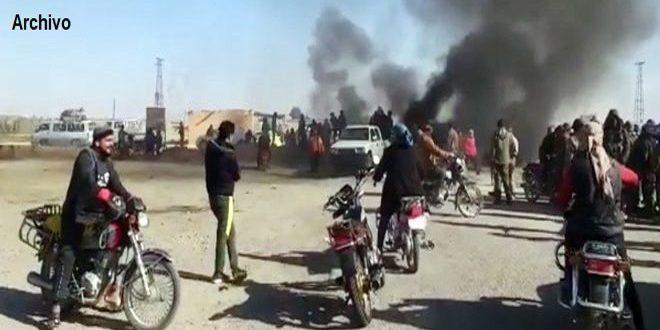 Milicia separatista FDS secuestró a nueve civiles en Shuhail, provincia de Deir Ezzor