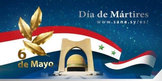 Siria conmemora el Día de Mártires