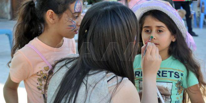 Felicidad de los niños en uno de los parques de la ciudad siria de Latakia (+ fotos)