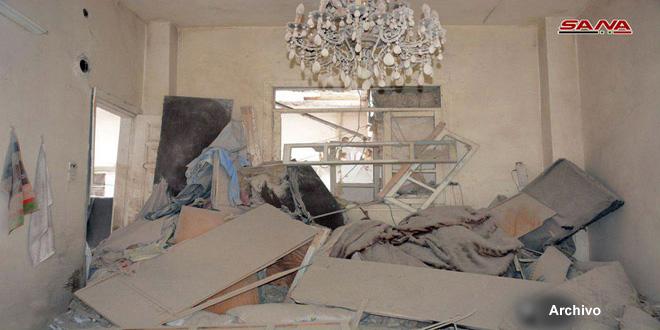 Terroristas bombardean aldea de Jurin, provincia de Hama