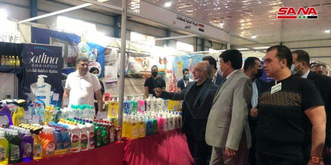 """Feria """"Made in Syria"""" se inauguró en Bagdad (+ fotos)"""